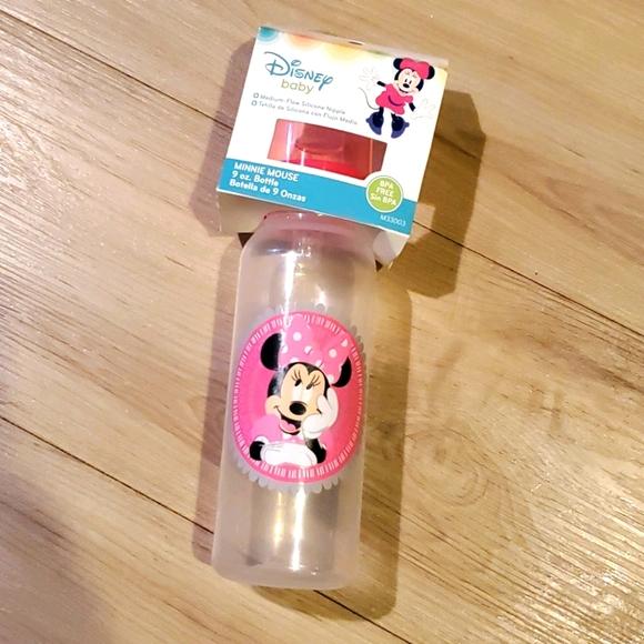 💰2 for $10 New Disney Baby Minnie Bottle 9oz